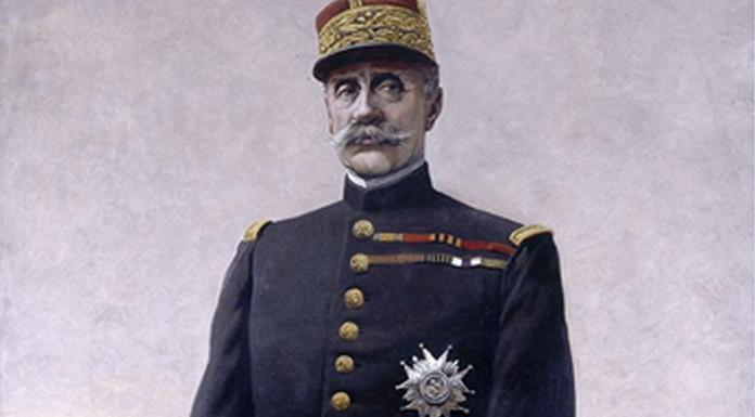 Le maréchal Foch par Louis Bombled, 1920
